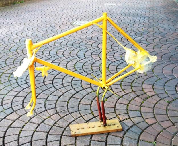 sealingthefog yellow bike 4