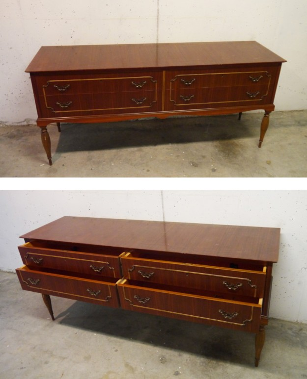 3 Sealinthefog The new life of a thrifted dresser as a media console